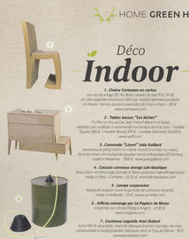 GREEN ATITUDE - COMMODE COLLECTION LISERE - MARS 2015