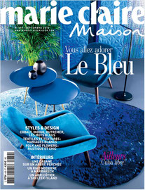 MARIE CLAIRE MAISON - COLLECTION LISERE ET BUREAU MURAL LATITUDE < AOUT 2015