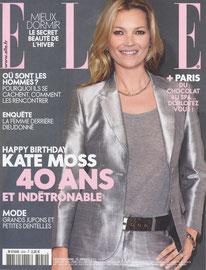ELLE MAGAZINE < CONSOLE CHEMINEE - JANVIER 2014