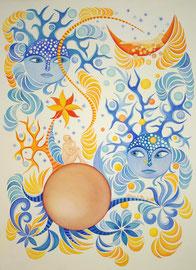 Aquarelle par Artiste peintre à Nantes