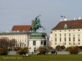 Reiterstandbild  Erzherzog Karl