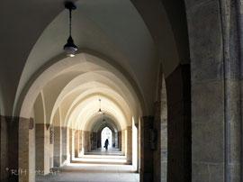 Durchgang an der Minoritenkirche