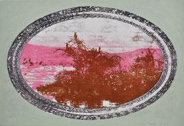 """Asta Rode, """"Letzter Fisch"""", Öl auf Leinwand, 45 x 65 cm, 2013"""
