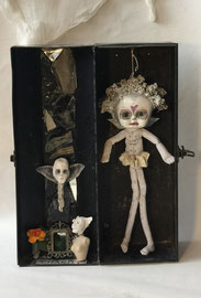Charity(inside view)   Assemblage   Kathleen Engstrom     $600