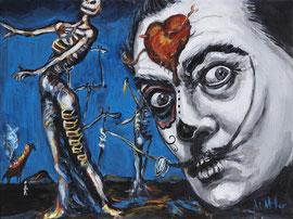 Dia del los Dali  Acrylicon Canvas Deb Miller   $800