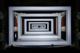 Leben des Galilei // Staatstheater Schwerin // 2017 // Regie: Martin Nimz