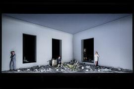 Frau vom Meer // Theater Bonn // 2017 // Regie: Martin Nimz