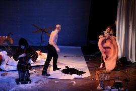 Don Quijote // schauspielfrankfurt // 2007 // Regie: Simon Solberg
