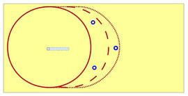 Zirkel verlängern/variieren mit Hilfe von Pylonen