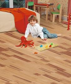 Foto: ZIRO - Bodenbeläge: Fertigparkett | Bambus-Parkett | Massivholzdielen | Korkböden | Vinyl-/Designbeläge | Lederbeläge | Linoleum | Laminatböden
