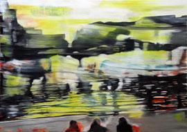 Gegenwärtig 2014   Öl auf Leinwand   50 x 70 cm