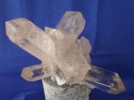 Bergkristall wie ein Wegweiser: es geht in alle Richtungen, 16cm