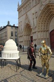 Les personnages du Musée de décors de cinéma et de la miniature / Photo : Anik Couble