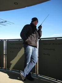 Funkbetrieb auf dem Gänsehals DM/RP-064