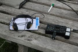 Funkbetrieb auf der Hornisgrinde mit Elecraft KX1 und MP1 Antenne