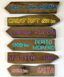 Pancarte Cartagena personalisable
