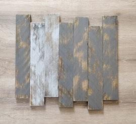 Tableau gris foncé poncé