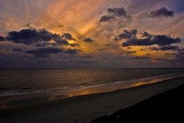 Sonnenuntergang am Strand von Blavand 2