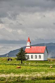 typische Kirche auf Island