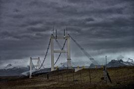 Jökulsárlón Brücke