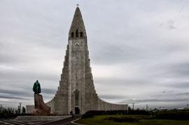 Halgrimmskirkja in Reykjavík