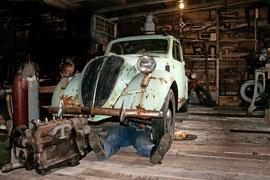 Fiat Topolino Bj. 1937, Museum of transports Ystafelli 3