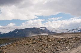 Gletscherpiste F550  bei Husafell 2