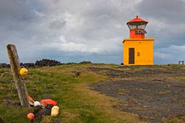 kleiner Leuchtturm von Öndverðarnes