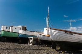 Fischerboote von Akanes