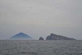 L'isola di Stromboli e Panarea