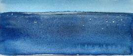 Nocturen-Oude Maas-aq-2,  aquarel op papier / prijs op vraag