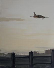 Abend - Öl auf Leinwand - 100 x 80 cm - 2009