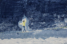 Balance - Öl auf Leinwand - 60 x 90 cm - 2015