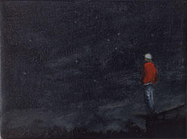 o.T. - Öl auf Leinwand - 18 x 24 cm - 2015