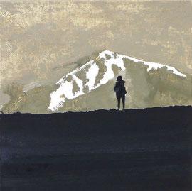 Suche - Öl auf Leinwand - 35 x 35 cm - 2010