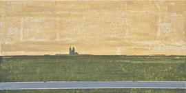 Dom - Öl auf Leinwand - 40 x 80 cm - 2012
