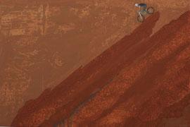 Schiefe Ebene - Öl auf Leinwand - 60 x 90 cm - 2015