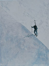 o.T. - Öl auf Leinwand - 40 x 30 cm - 2011