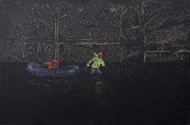 Strömung - Öl auf Leinwand - 60 x 90 cm - 2016