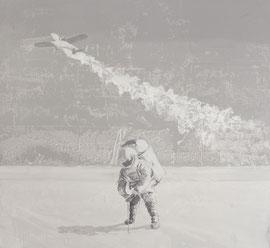 Withe Sands - Öl auf Leinwand - 110 x 120 cm - 2017