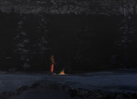 o.T. Öl auf Leinwand - 110 x 150 cm - 2016