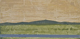 Brocken -  Öl auf Leinwand - 40 x 80 cm - 2012