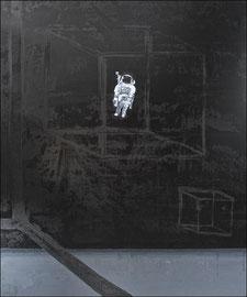 Orbit - Öl auf Leinwand - 180 x 150 cm - 2018