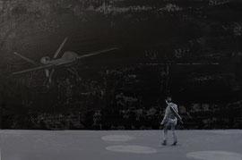 Auge - Öl auf Leinwand - 60 x 90 cm - 2017