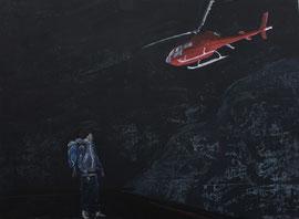 Abflug - Öl au Leinwand - 110 x 150 cm - 2015