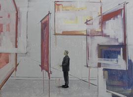 Malerei - Öl auf Leinwand - 110 x 150 cm - 2015