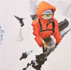 Halt - Öl auf Leinwand - 40 x 40 cm - 2010