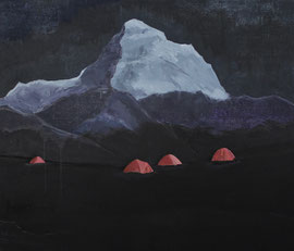 Basis - Öl auf Leinwand - 160 x 190 cm - 2015