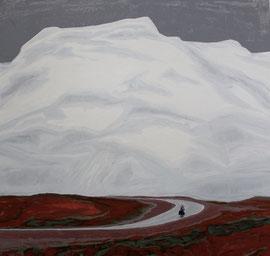 Weg - Öl auf Leinwand - 150 x 160 cm - 2015