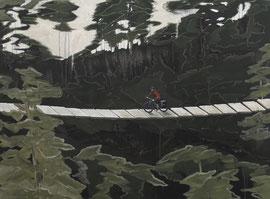 Pfad - Öl auf Leinwand - 110 x 150 cm - 2015